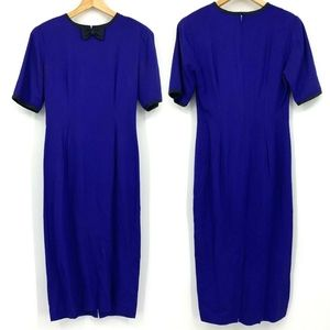 3/$20 Ann Taylor Vintage Dress Short Sleeve Bow